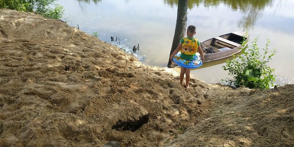 На Конотопщині активісти самотужки влаштували новий пляж, фото-5