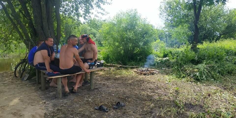 На Конотопщині активісти самотужки влаштували новий пляж, фото-7