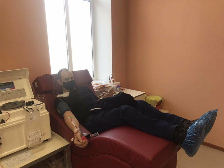 Поліцейські Конотопа здали кров для онкохворих дітей, фото-5
