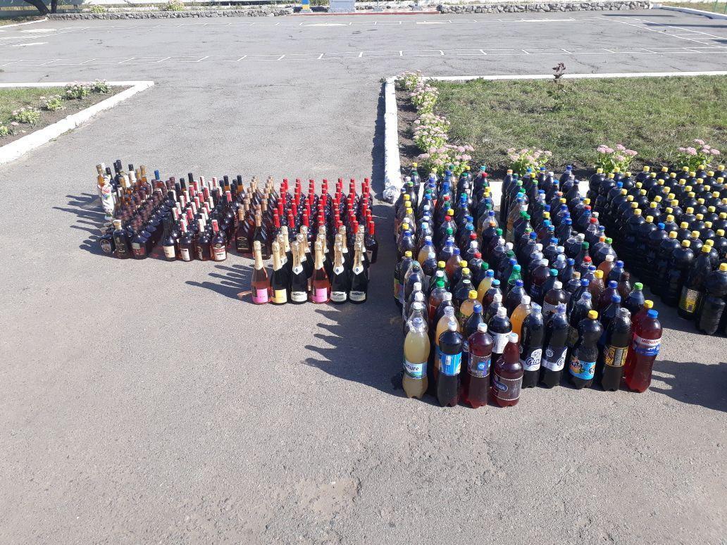 До Сумщини з Молдови хотіли привезти 1200 літрів алкоголю без акцизів, фото-1