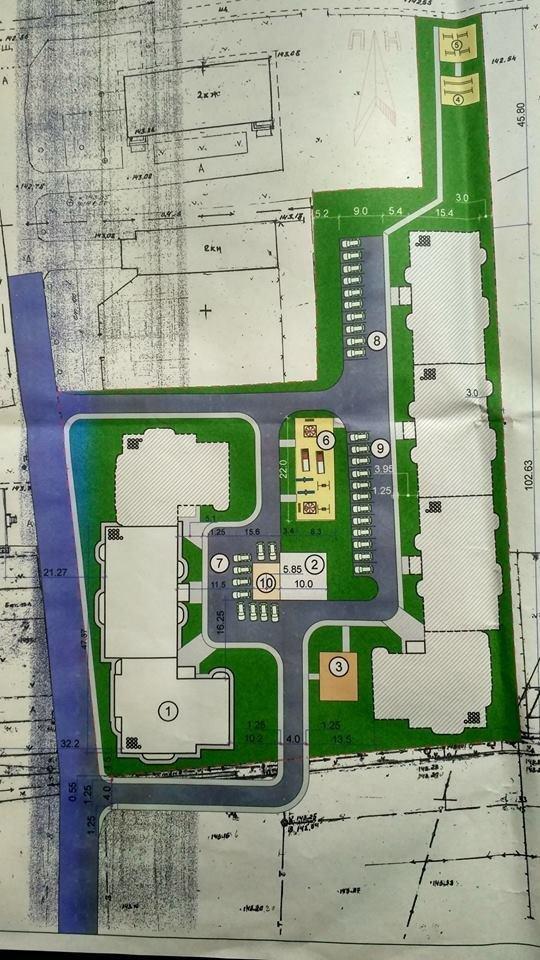 У мережі з'явився генеральний план житлового комплексу по вул. Успенсько–Троїцькій, фото-2