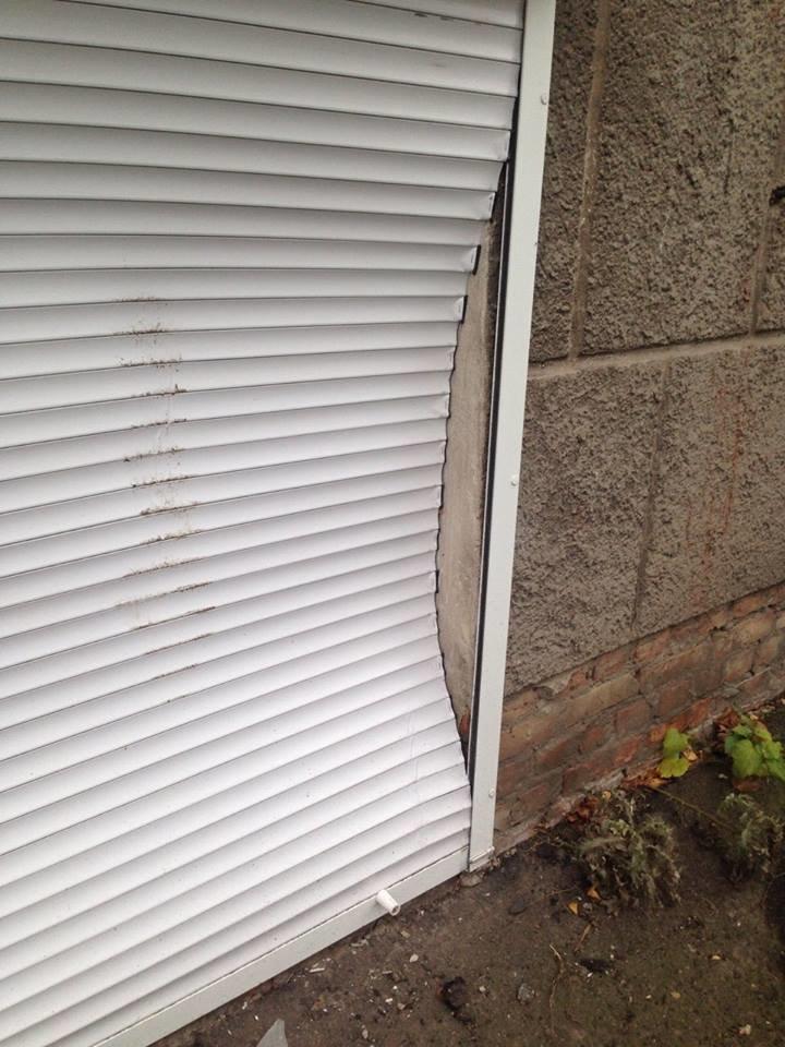 У Конотопі вандали зламали ролети центру фізичного здоров'я населення , фото-4
