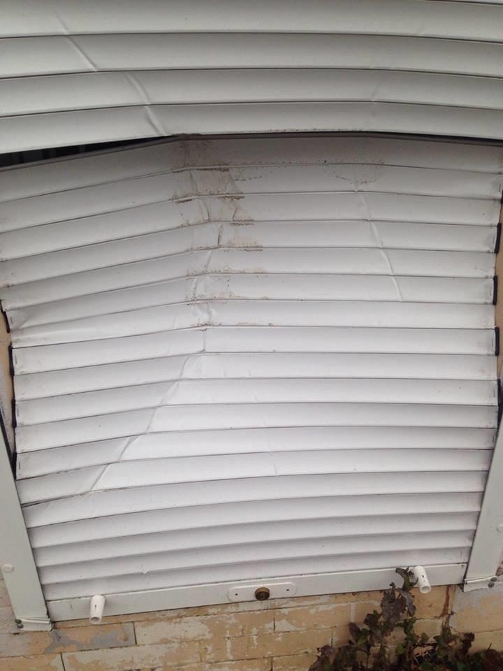 У Конотопі вандали зламали ролети центру фізичного здоров'я населення , фото-1