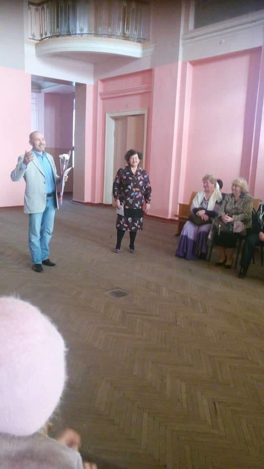 Конотопський клуб людей похилого віку «Надвечір'я» відсвяткував свою річницю, фото-1