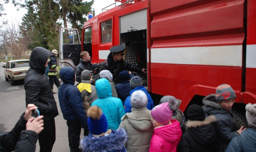 У Конотопській школі-інтернаті провели пожежно-тактичні навчання , фото-1