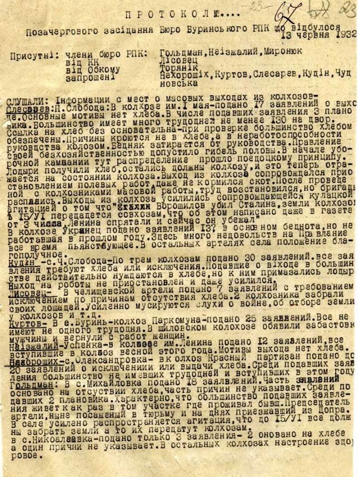 Оприлюднено архівні матріали про Голодомор на Сумщині, фото-2