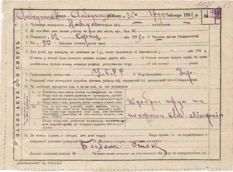 Оприлюднено архівні матріали про Голодомор на Сумщині, фото-14