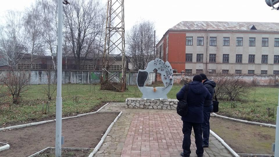 У Конотопі пам'ятник жертвам Голодомору облили невідомою речовиною, фото-4, Генадій Тарасенко