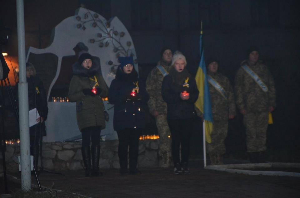 У Конотопі відбувся мітинг-реквієм до Дня пам'яті жертв Голодоморів, фото-1