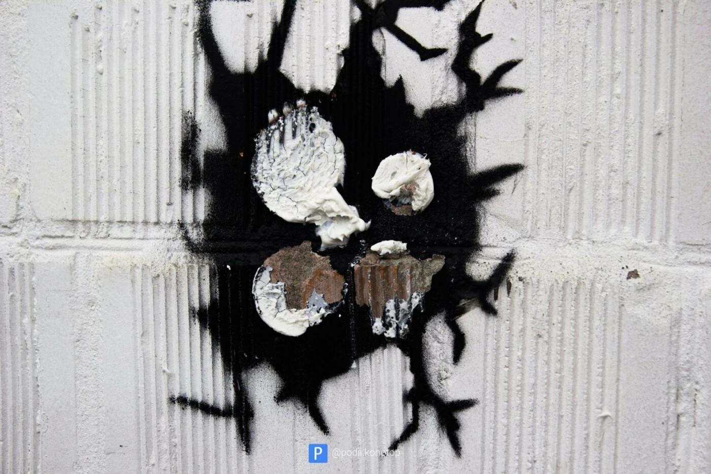 У Контопі зіпсували арт-об'єкти, фото-1