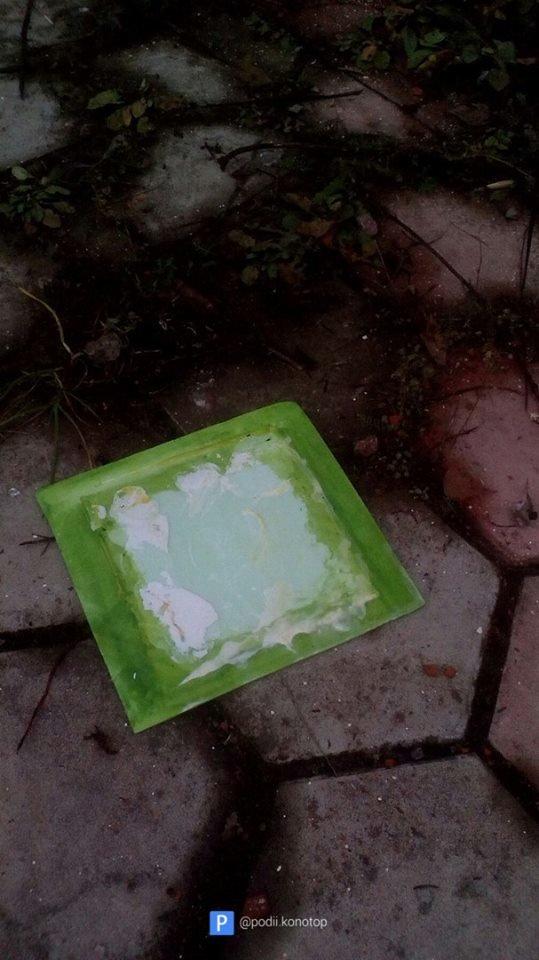 У Конотопі невідомі розгромили роботи вуличних художників, фото-6