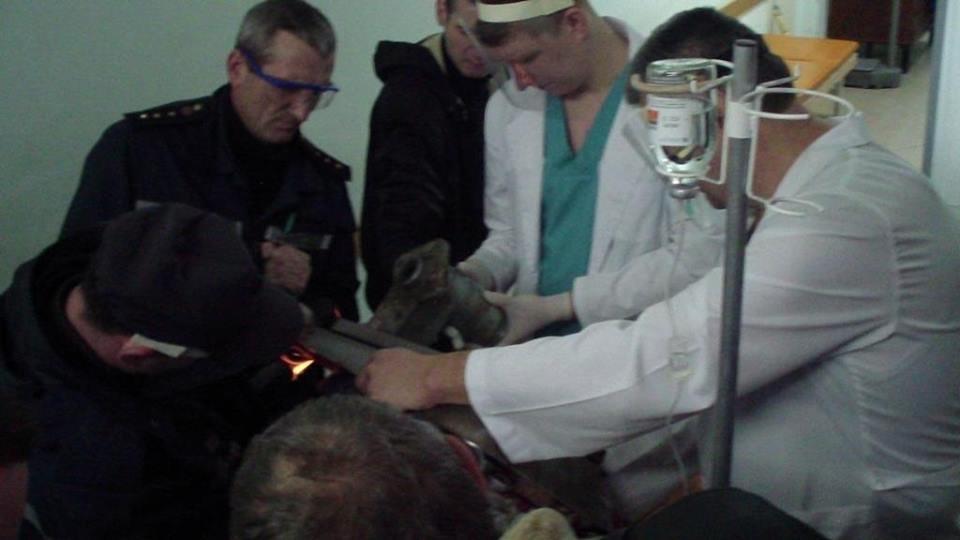 У Конотопі рятувальники визволили руку жінки з електром'ясорубки, фото-1