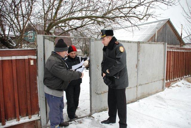 На Конотопщині рятувальники ходили по дворам та роз'яснювали правила безпеки, фото-4