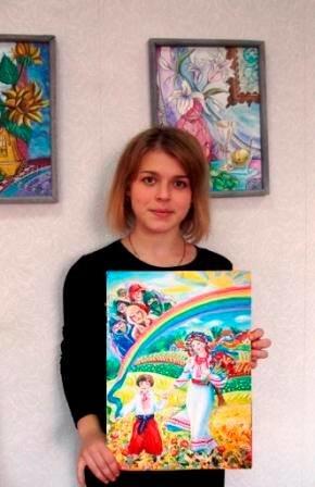 Юні конотопські художники перемогли на всеукраїнському конкурсі малюнків, фото-3