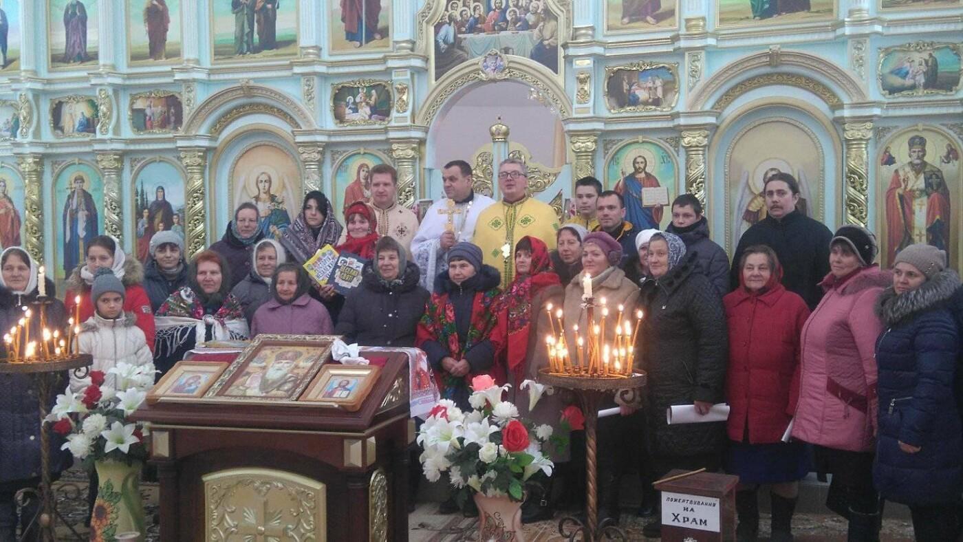 """Активісти """"Правого Сектору"""" відвідали храм в Сахнах, фото-4"""
