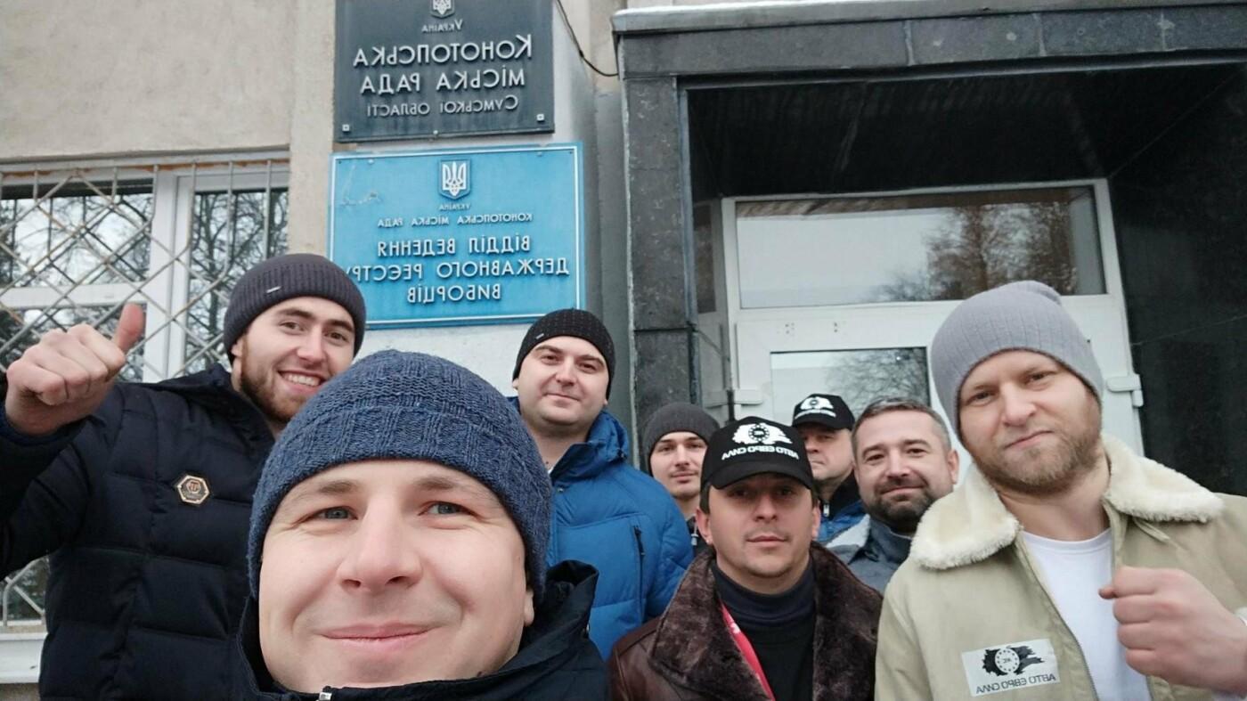 Мер Артем Семеніхін підтримав автомобілістів на єврономерах, фото-1, fb Авто-Евро-Сила
