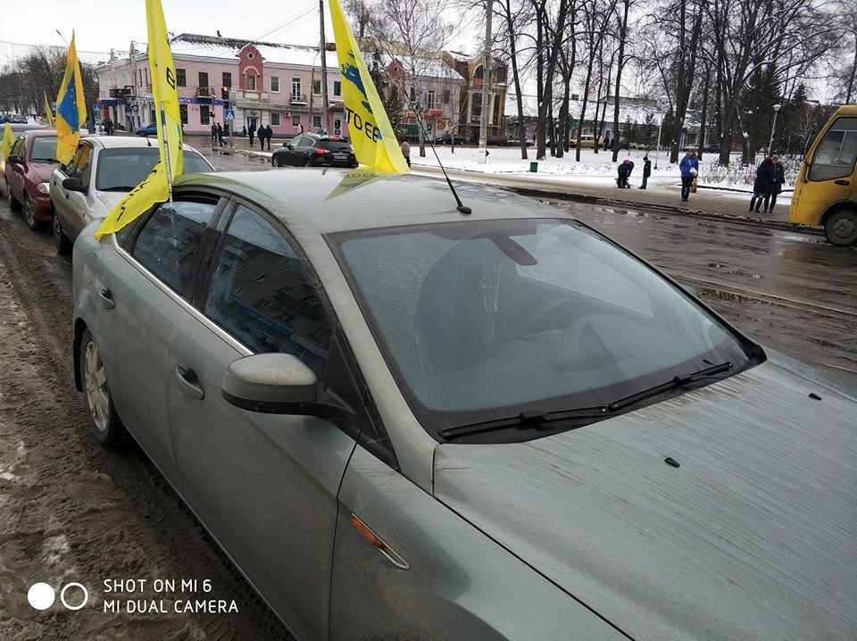 Мер Артем Семеніхін підтримав автомобілістів на єврономерах, фото-2, fb Авто-Евро-Сила