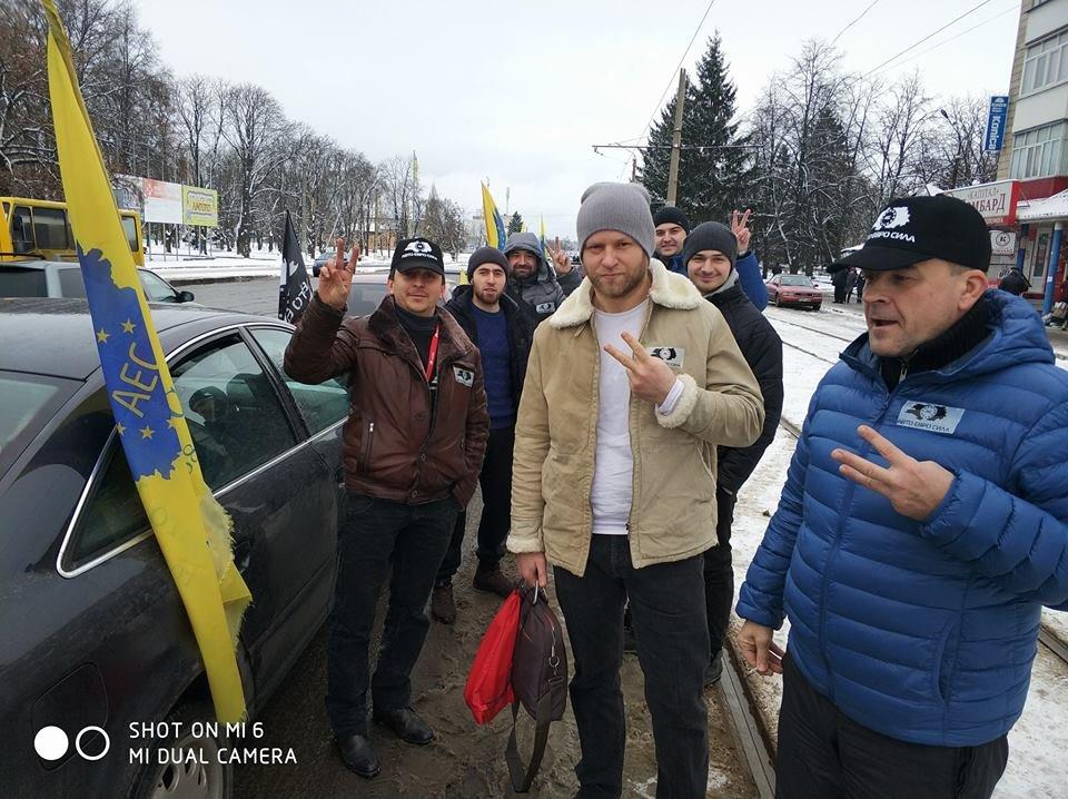 Мер Артем Семеніхін підтримав автомобілістів на єврономерах, фото-3, fb Авто-Евро-Сила