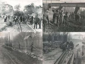 Сторінка в минуле: в Конотопі будують трамвай, фото-2