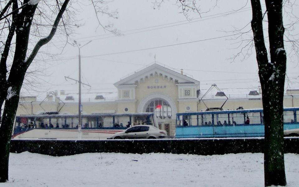 Зимовий трамвай. Фоторепортаж, фото-1, Фото О. Лисенко