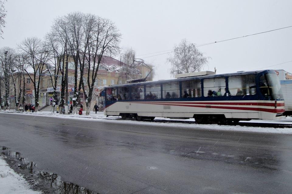 Зимовий трамвай. Фоторепортаж, фото-3, Фото О. Лисенко