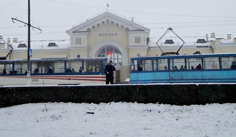 Зимовий трамвай. Фоторепортаж, фото-2, Фото О. Лисенко
