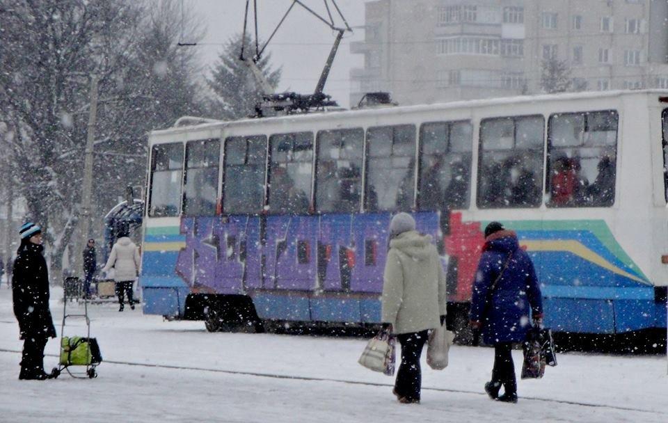 Зимовий трамвай. Фоторепортаж, фото-6, Фото О. Лисенко