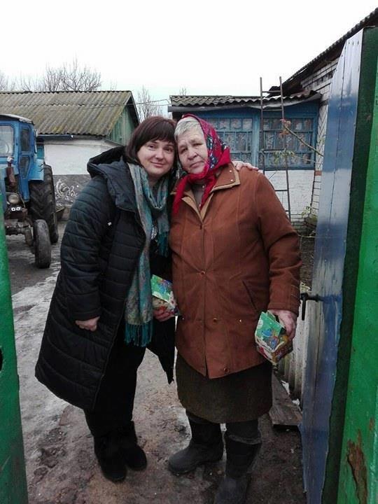 На Конотопщині новорічними подарунками привітали сім'ї загиблих учасників АТО, фото-1