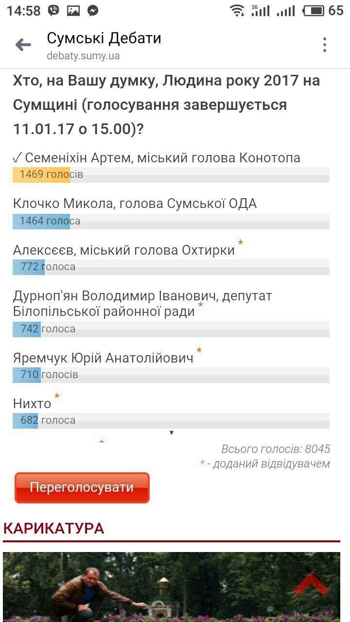 Мер  Артем Семеніхін став людиною року на Сумщині. , фото-1