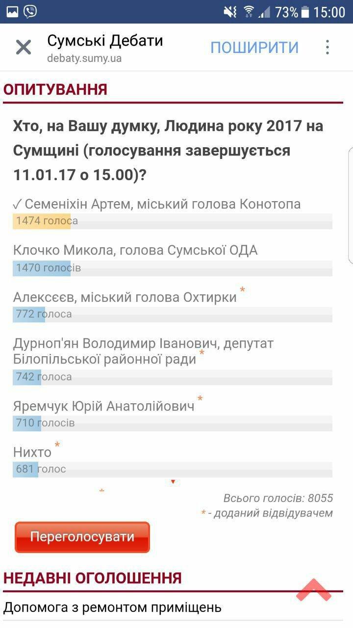 Мер  Артем Семеніхін став людиною року на Сумщині. , фото-2