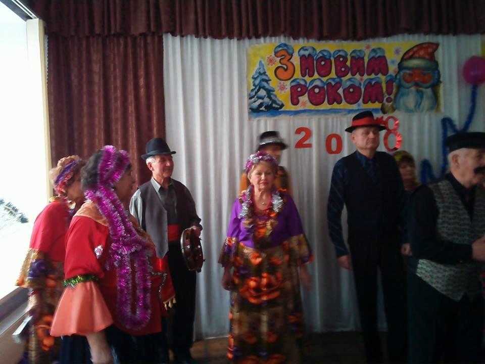 У конотопському центрі соцобслуговування співали щедрівки, фото-5