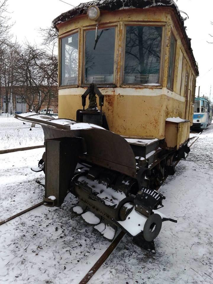 Фотофакт: конотопські трамваї готові до снігопадів, фото-2