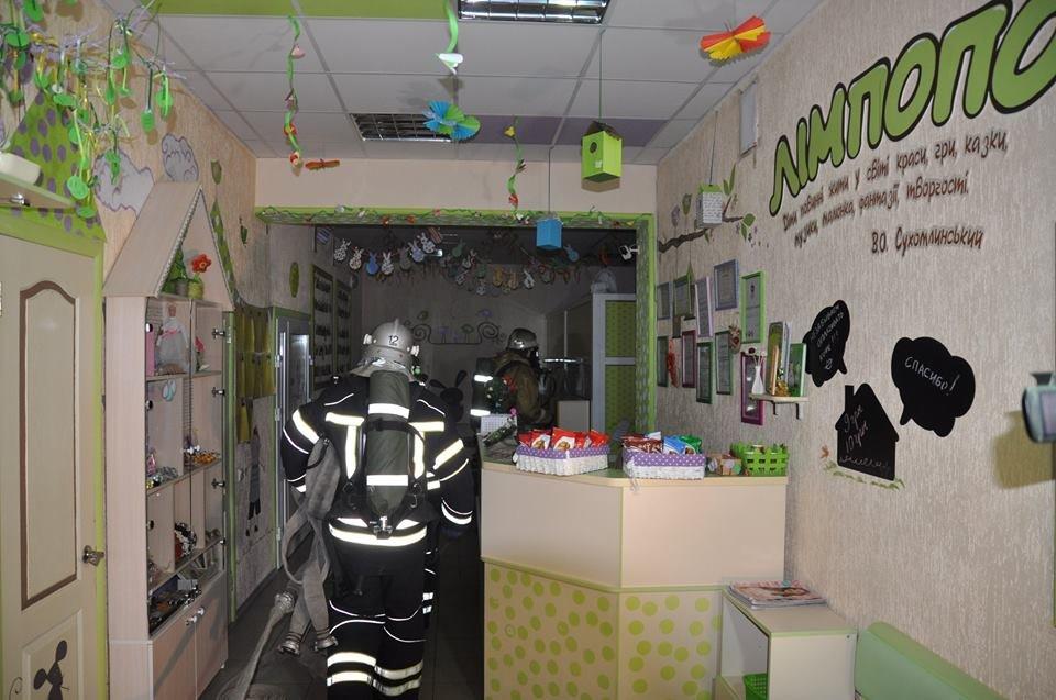 У Конотопі провели пожежні навчання в торгівельному центрі, фото-2