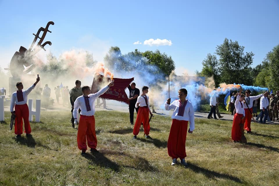 Під Шаповалівкою відзначили річницю Конотопської битви + ФОТО, фото-1, Сумська ОДА