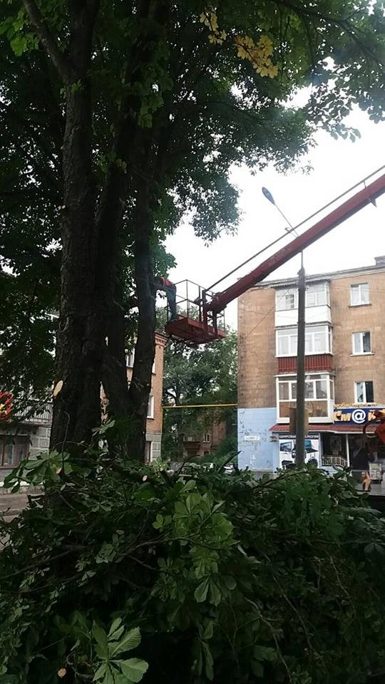 У Конотопі ремонтували вуличне освітлення, фото-1