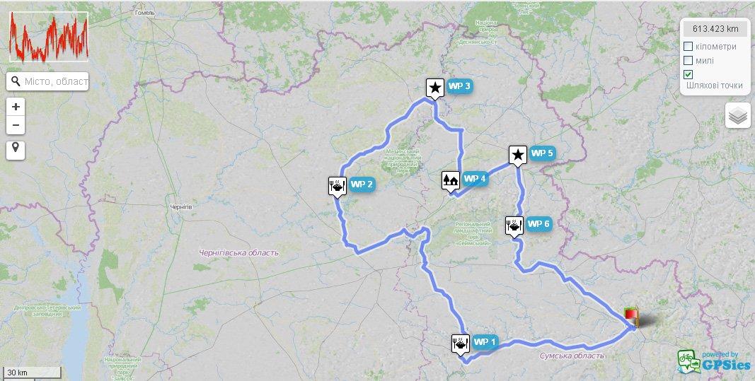 """Через Конотоп пройде велосипедний бревет на 600 км """"Сіверський"""", фото-1"""