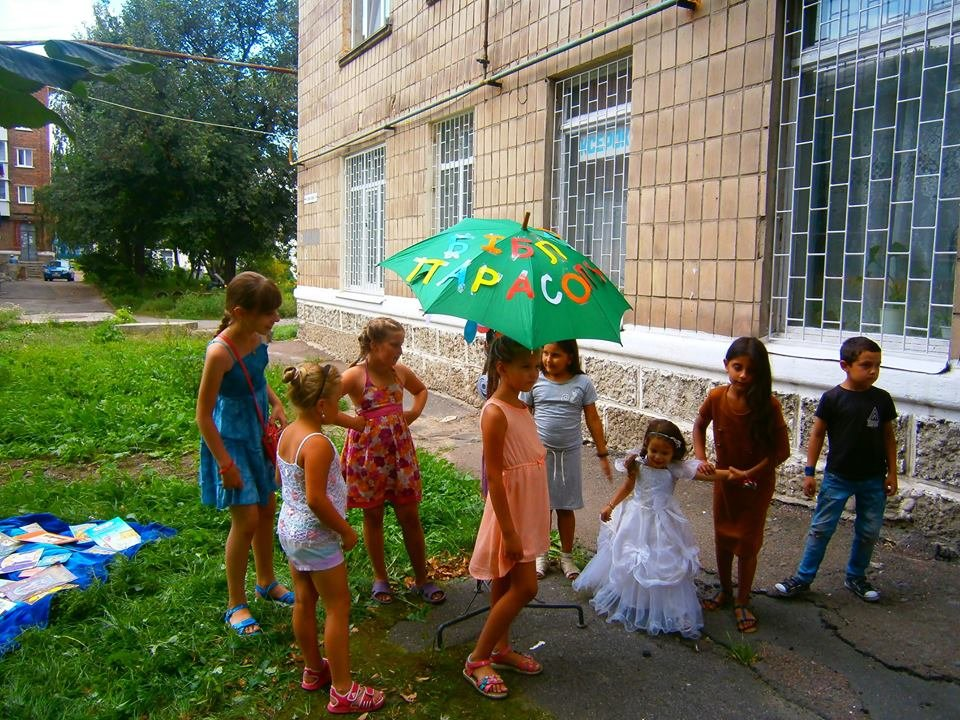 Конотопські бібліотекарі влаштували розваги для дітей, фото-4