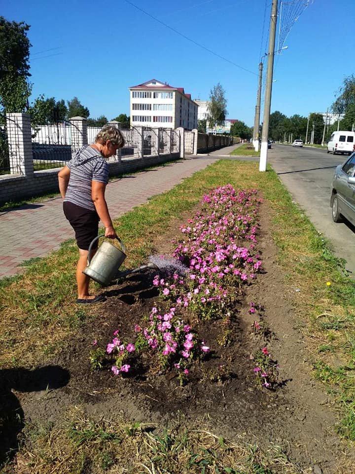 У Конотопі приводять до ладу квітники, фото-3
