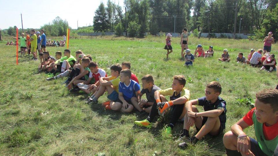 Між дитячими таборами «Мрія» та «Зорька» влаштували спортивні змагання, фото-3
