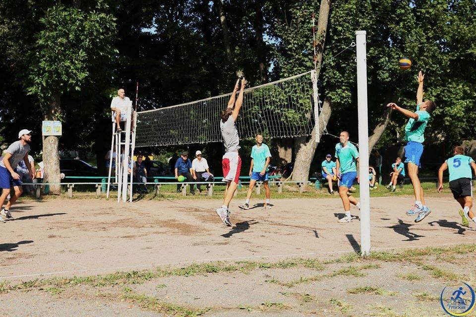 """Конотопські волейболісти стали срібними призерами турніру з паркового волейболу, фото-1, Фото """"Глухів спортивний"""""""