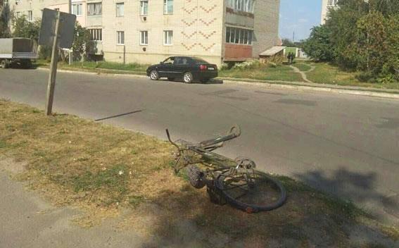 На Сумщині водій авто збив велосипедистку, фото-1