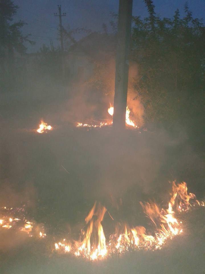 У Конотопі сталася пожежа в районі Воронцово, фото-1