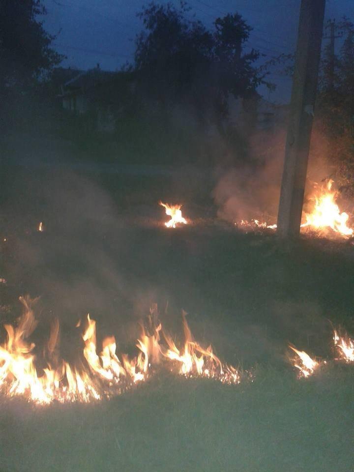 У Конотопі сталася пожежа в районі Воронцово, фото-2