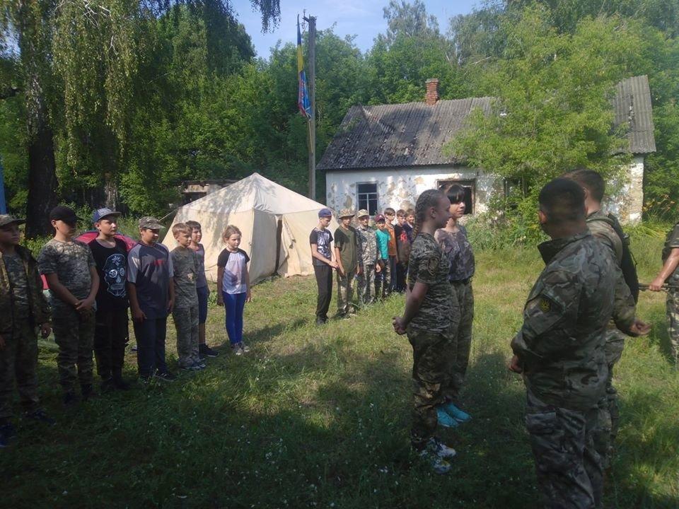 На Конотопщині для молоді провели козацьке таборування, фото-5