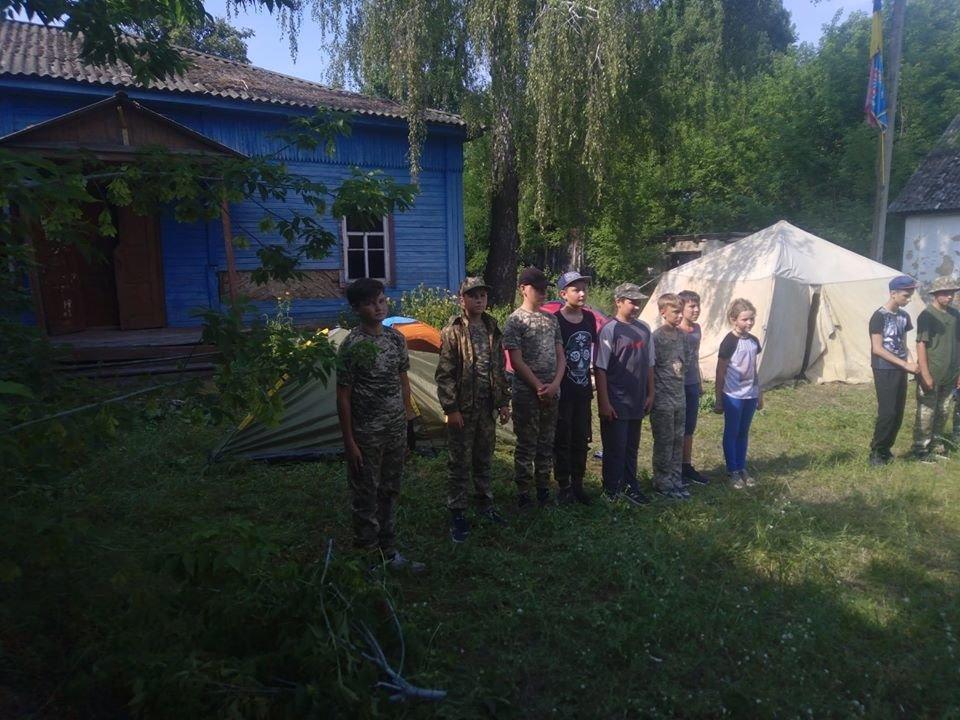 На Конотопщині для молоді провели козацьке таборування, фото-8