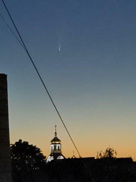 Жителі Сумщини до кінця липня бачитимуть комету, фото-1
