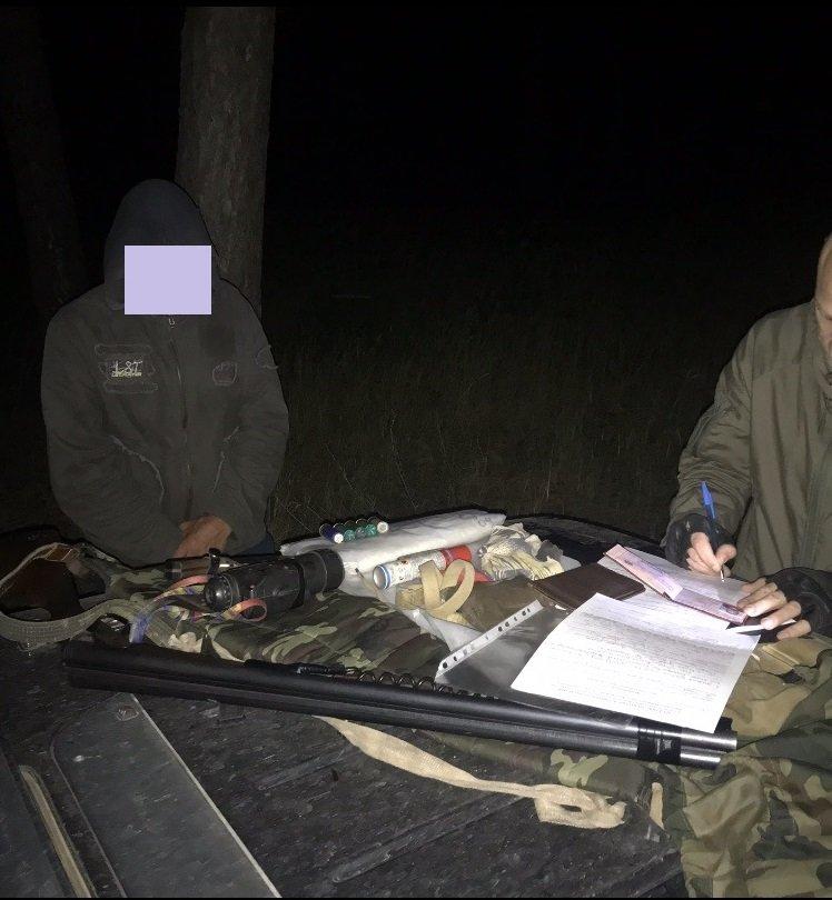 На Конотопщині затримали браконьєра, фото-1
