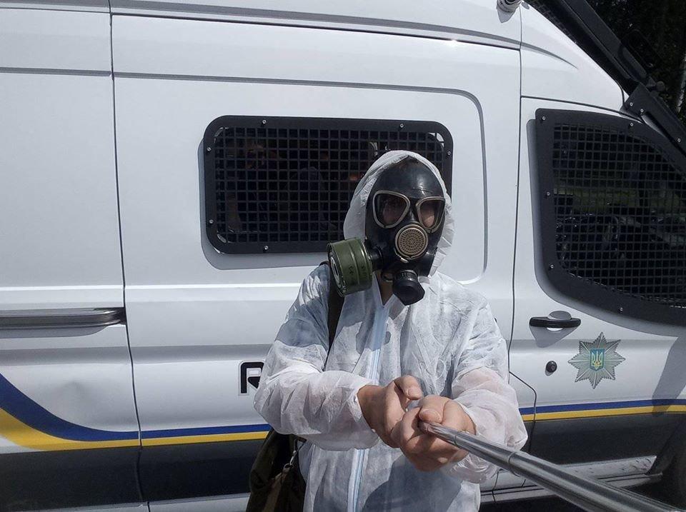 Жителі Конотопщини вийшли на мітинг проти смороду від Попівського спиртзаводу, фото-1