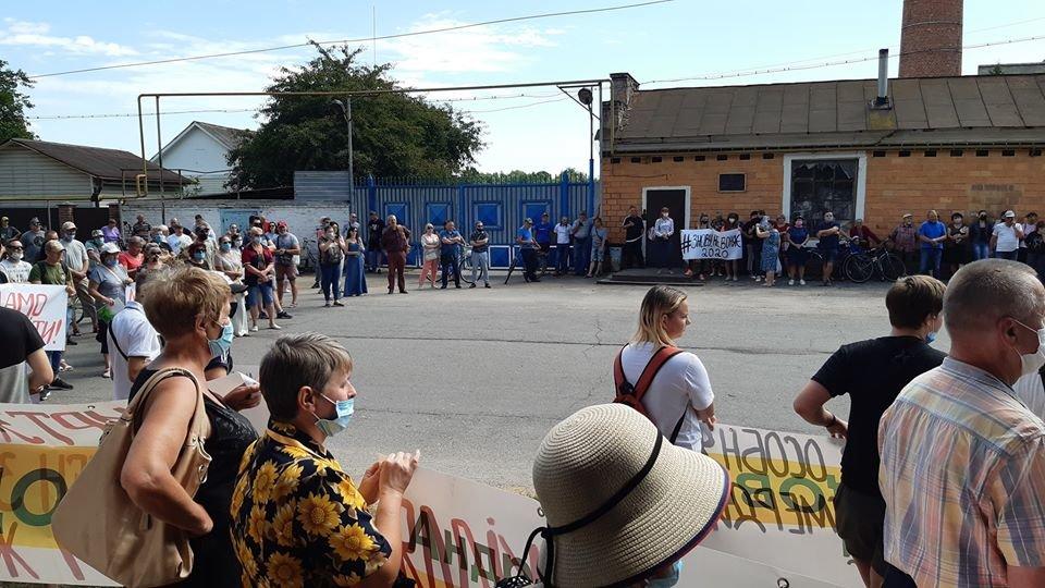Жителі Конотопщини вийшли на мітинг проти смороду від Попівського спиртзаводу, фото-6