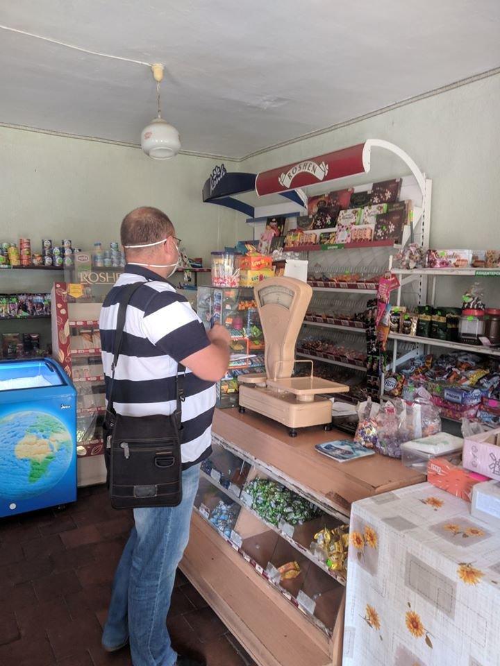 На Конотопщині перевіряли, чи носять маски в магазинах, фото-1